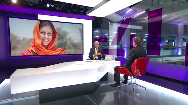 nazanin zaghariratcliffe family given new hope of release following visit by foreign secretary boris johnson england london gir int richard ratcliffe... - richard ratcliffe video stock e b–roll