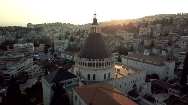 Nazareth, church of the Annunciation/ Aerial