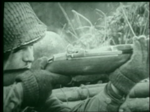 nazis fight fiercely to no avail during the battle for bastogne in belgium. - allied forces stock videos & royalty-free footage