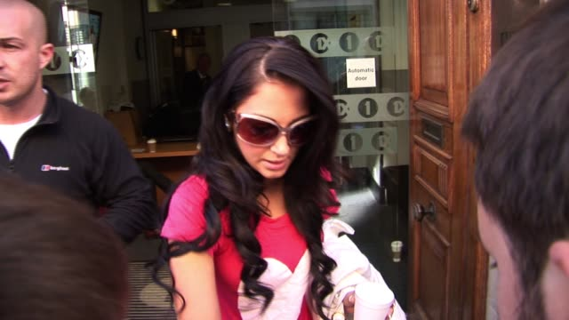ndubz leave bbc radio one on september 25, 2010 in london, england - bbc radio stock videos & royalty-free footage