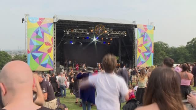 GBR: At 'Kaleidoscope' festival, Londoners savour the return of live music