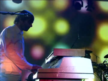 nearly 25 years after jean-michel jarre's smash hit oxygene, french duo air carry the beacon of french electronic pop with a mix of chill-out music,... - montreux jazz festival stock videos & royalty-free footage