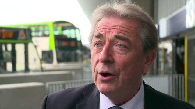 Nearly half of councilfunded bus routes under threat ENGLAND Lancashire EXT Various of reporter talking to Councillor Keith Iddon Councillor Keith...