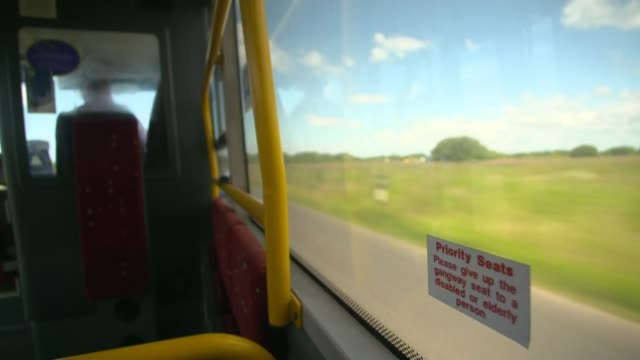 Nearly half of councilfunded bus routes under threat England Lancashire View from buses as along road / Joan Cringle interview Lancashire View from...