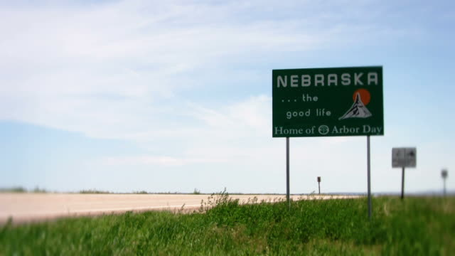 nebraska state - nebraska stock-videos und b-roll-filmmaterial