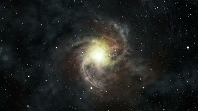 星雲銀河の hd ビデオ - 銀河点の映像素材/bロール
