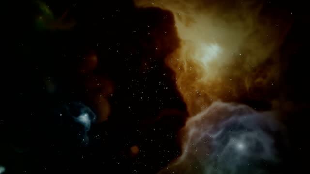 vídeos de stock, filmes e b-roll de espaço galáxia nebulosa - espaço e astronomia