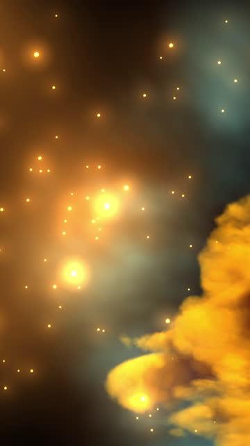 ein im weltraum verlorener nebel - astronomie stock-videos und b-roll-filmmaterial
