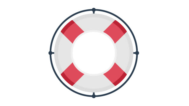 vídeos de stock e filmes b-roll de need help glitch effect icon animation with alpha - design plano