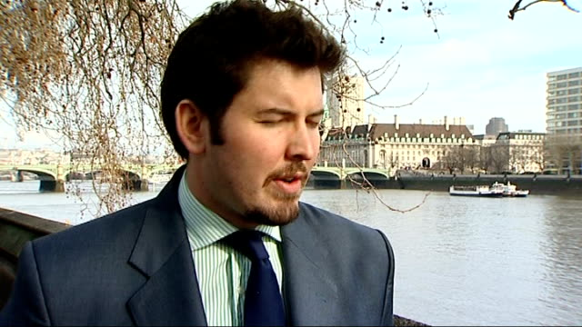 negative growth at the end of 2010 worse than thought reporter to camera sot jeremy cook interview sot danny alexander mp and another along street... - number 11 stock videos and b-roll footage