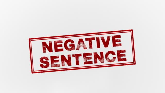 negative sentence - punishment stock videos & royalty-free footage