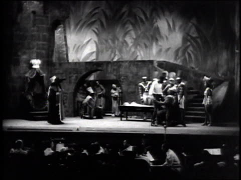 Negro Theater Unit of the Federal Theater Project performing Macbeth / New York City New York United States
