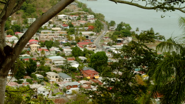 neighborhood along the coast is seen as the country is consumed with reports that former fifa vice-president jack warner was corrupted as he worked... - trinidad trinidad and tobago stock videos & royalty-free footage