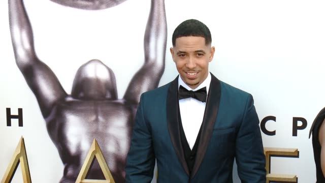 neil brown jr at 47th annual naacp image awards at pasadena civic auditorium on february 05 2016 in pasadena california - pasadena civic auditorium stock videos and b-roll footage