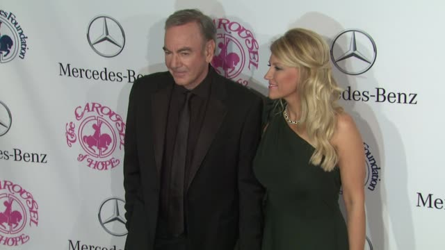 Neil Diamond at 26th Anniversary Carousel of Hope Ball on in Beverly Hills CA