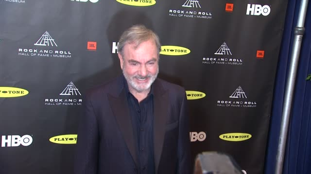 Neil Diamond at 28th Annual Rock and Roll Hall Of Fame Induction Ceremony Arrivals 4/18/2013 in Los Angeles CA
