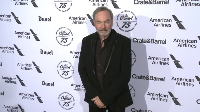 Neil Diamond at Capitol Records Celebrates 75th Anniversary With Hollywood Gala on November 15 2016 in Hollywood California