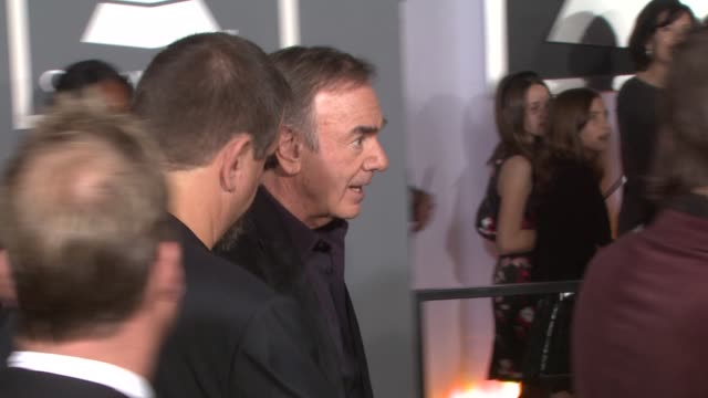 Neil Diamond at the 51st Annual Grammy Awards at Los Angeles CA