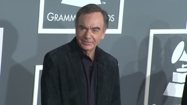 Neil Diamond at the 51st Annual Grammy Awards Part 3 at Los Angeles CA