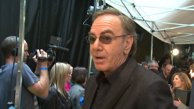 Neil Diamond at the Mojo Honours List at London