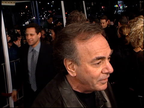 Neil Diamond at the 'Saving Silverman' Premiere at the Mann Village Theatre in Westwood California on February 7 2001