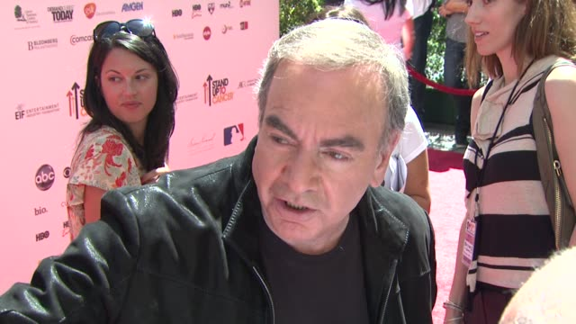 Neil Diamond at the Stand Up To Cancer at Los Angeles CA