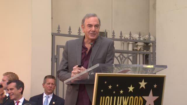 Neil Diamond on being honored and on his friend Randy Newman at Neil Diamond Honored With Star On The Hollywood Walk Of Fame on 8/10/12 in Hollywood...