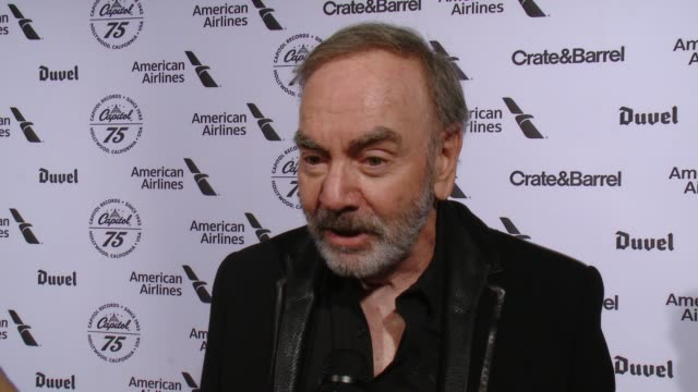 INTERVIEW Neil Diamond on Capitol Records and tonight's event what being a Capitol artist means what's coming up at Capitol Records Celebrates 75th...