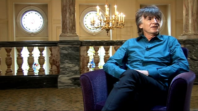 neil finn of crowded house interview neil finn interview continued sot not so selfconscious in australia and new zealand as in american and uk where... - 2009 stock videos & royalty-free footage