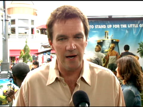 Neil Flynn on playing 'Mr Eberhardt' on working with Jimmy Buffett at the 'Hoot' Premiere at the Pacific Theaters at The Grove in Los Angeles...