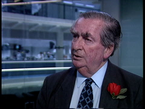 neil kinnock profile itn cms denis healey intvwd sof kinnock will be like gorbachev/ a man who made a historic contribution but didnt benefit... - denis healey stock videos & royalty-free footage