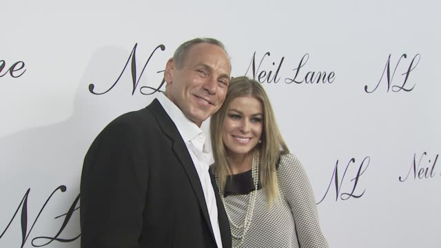 Neil Lane and Carmen Electra at the Neil Lane Jewelry opens flagship store at Los Angeles CA