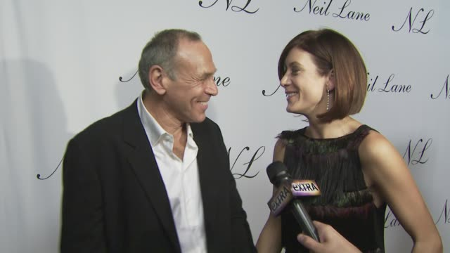 Neil Lane and Kate Walsh at the Neil Lane Jewelry opens flagship store at Los Angeles CA