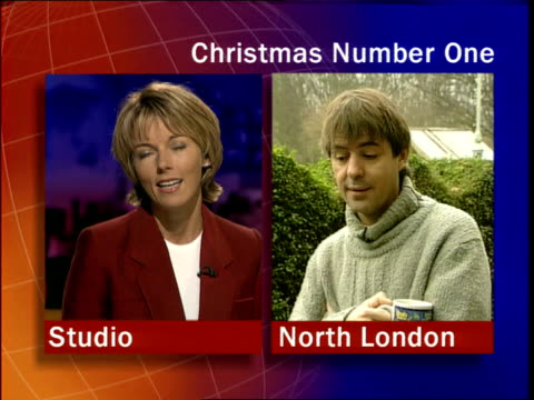 neil morrissey itn england: london: ext neil morrissey interviewed sot - we're giving it a go - fairly confident - we'd no idea it would take off and... - mary nightingale stock videos & royalty-free footage