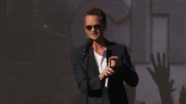 SPEECH Neil Patrick Harris at 2016 Global Citizen Festival In Central Park To Solve The World's Biggest Challenges at Central Park on September 24...