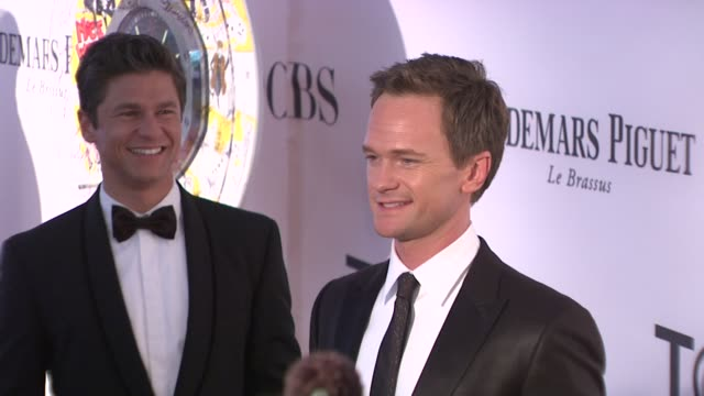 Neil Patrick Harris at 66th Annual Tony Awards Red Carpet at The Beacon Theatre on June 10 2012 in New York New York