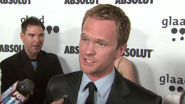 Neil Patrick Harris at the 18th Annual GLAAD Media Awards at the Kodak Theatre in Hollywood California on April 14 2007