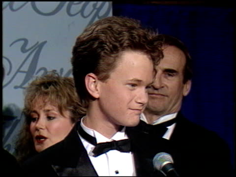 Neil Patrick Harris at the 1990 People's Choice Awards at Universal Studios in Universal City California on March 11 1990