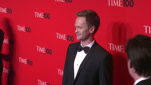 neil patrick harris at the 2010 time 100 gala at new york ny. - neil patrick harris stock videos & royalty-free footage