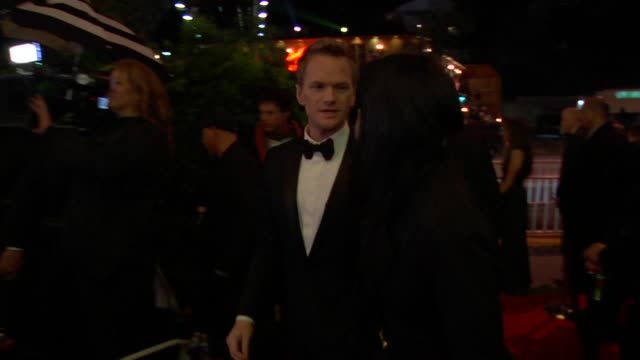 neil patrick harris at the 2010 vanity fair oscar party hosted by graydon carter at west hollywood ca. - vanity fair oscar party stock videos & royalty-free footage