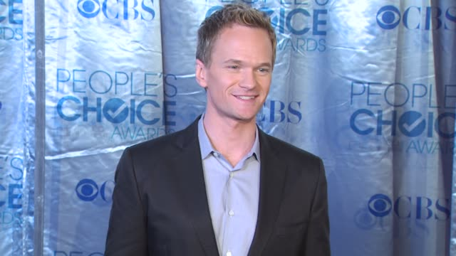 Neil Patrick Harris at the 2011 People's Choice Awards Arrivals at Los Angeles CA