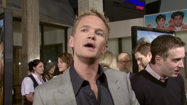 Neil Patrick Harris at the 'Harold and Kumar Escape from Guantanamo Bay' premiere at Arclight Cinemas in Hollywood California on April 18 2008