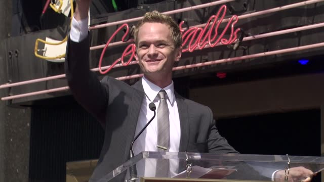 Neil Patrick Harris at the Neil Patrick Harris Honored With Star On The Hollywood Walk Of Fame at Hollywood CA