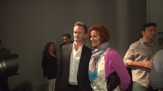 neil patrick harris at the the us premiere of 'the expert at the card table' directed by neil patrick harris and starring guy hollingworth at santa... - card table stock videos and b-roll footage