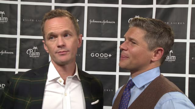 INTERVIEW – Neil Patrick Harris David Burtka on children going through stuff frequently qualities to good parenting on what they do to have fun at...