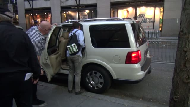 neil patrick harris going in the back door of the today show on october 01, 2014 in new york city. - neil patrick harris stock videos & royalty-free footage
