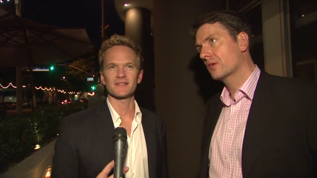 Neil Patrick Harris Guy Hollingworth on being a fan of magic at the The US Premiere Of 'The Expert At The Card Table' Directed By Neil Patrick Harris...