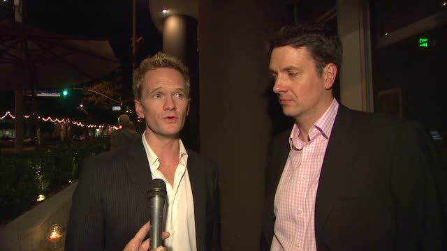 Neil Patrick Harris Guy Hollingworth on the characters at the The US Premiere Of 'The Expert At The Card Table' Directed By Neil Patrick Harris And...
