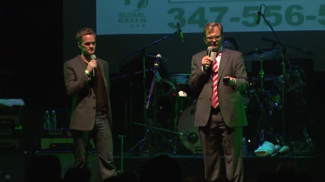 neil patrick harris matt petersen on the benefit at the global green usa's 6th annual preoscar party benefiting green schools at los angeles ca - pre party stock videos and b-roll footage