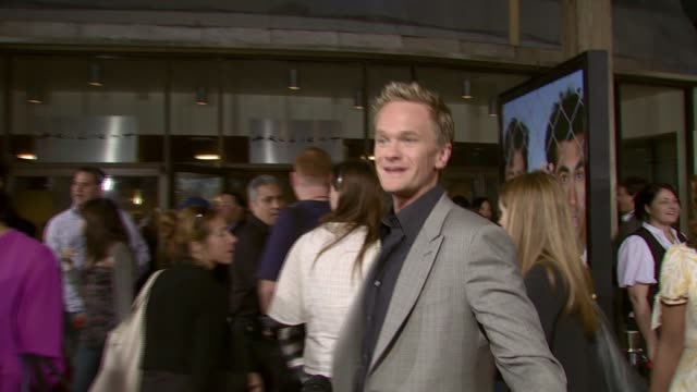 Neil Patrick Harris on being in the film at the 'Harold and Kumar Escape from Guantanamo Bay' premiere at Arclight Cinemas in Hollywood California on...